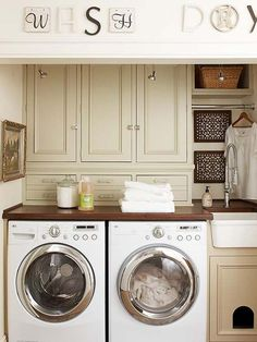 Basement Laundry Room ideas for Small Space (Makeovers) 2018 Small laundry room ideas Laundry room decor Laundry room storage Laundry room shelves Small laundry room makeover Laundry closet ideas And Dryer Store Toilet Saving Laundry Room Remodel, Laundry Room Cabinets, Laundry Room Organization, Diy Cabinets, Storage Cabinets, Large Cabinets, Colored Cabinets, Laundry Shelves, Cabinet Drawers