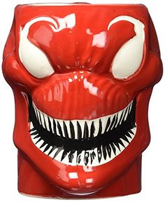 Officially Licensed Marvel Comics Molded 16 oz Mug  Cletus Kasady Carnage *** Visit the image link more details. Note:It is affiliate link to Amazon.