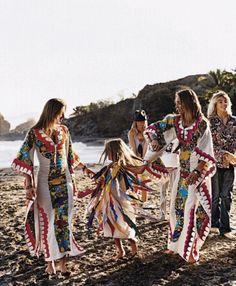 Les Gazelles - Mexican Dress in sayulita nayarit
