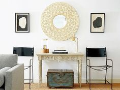 Front Entryway Ideas—How Editors Style a Console   MyDomaine