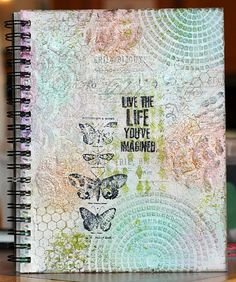 Art Journal Cover - finished