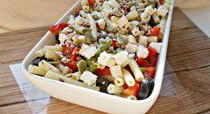 salata cu paste Pasta Salad, Eat, Ethnic Recipes, Food, Salads, Crab Pasta Salad, Essen, Meals, Yemek