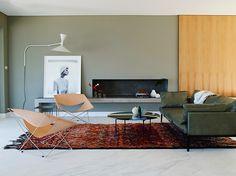 The Design Chaser: Homes to Inspire   Marble Floors + Lovely Light