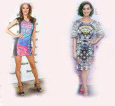 colorful dress, Alessandra Ambrosio VS Katy Perry fashion diva who-wore-it-better celeb celebrity