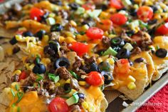 You can make easy and delicious NACHOS at home! Check out this recipe with step by step video to create nachos your friends and family will love! Mexican Dishes, Mexican Food Recipes, Beef Recipes, Cooking Recipes, Ethnic Recipes, Mexican Meals, Quesadillas, Appetizer Recipes, Snack Recipes
