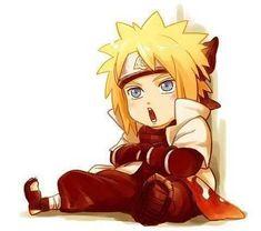Anime/manga: Naruto (Shippuden) Character: Minato, chibi Minato!