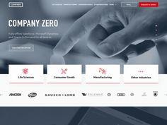 Landing page interactive prototype ramotion