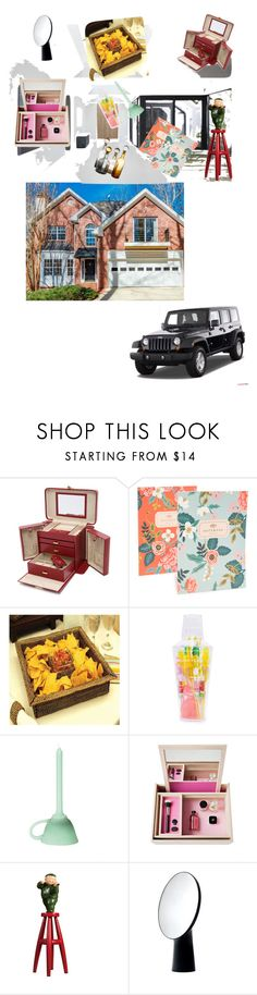 """""""Dream House..**"""" by yagna ❤ liked on Polyvore featuring interior, interiors, interior design, home, home decor, interior decorating, Wrangler, Brookhaven, Rifle Paper Co and Sunnylife"""