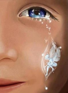 So beautiful... if a fairy touched our souls with every tear perhaps the world would be a better place!
