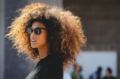 Major Beauty Inspo, Straight From The Street #refinery29  http://www.refinery29.com/beauty-street-style-fashion-week-spring-2016#slide-15  All we can say about Imaan Hammam is: Major. Hair. Envy. ...