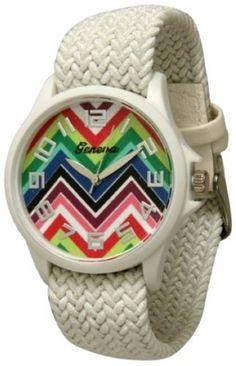 http://interiordemocrats.org/geneva-braided-fabric-rainbow-chevron-face-watchwhite-p-5808.html