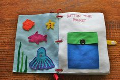 Button the pocket-Fish. Love this