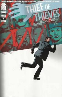 Thief of Thieves #6 Robert Kirkman Shawn Martinbrough Walking Dead ---> shipping is $0.01 !!!