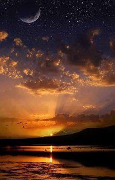 Amazing.  Moon Sun & Stars