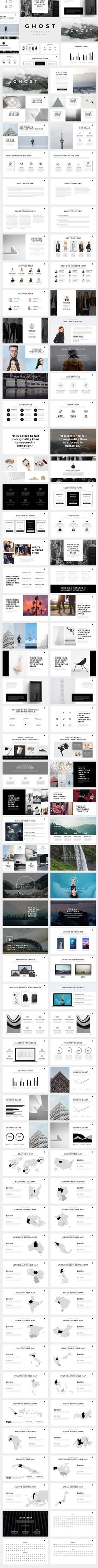 Ghost Minimal Powerpoint Template. Download here: http://graphicriver.net/item/ghost-minimal-powerpoint-template/16820687?ref=ksioks