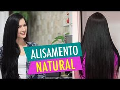 ALISAMENTO NATURAL com MAIZENA Leite e Açúcar! por Julia Doorman - YouTube