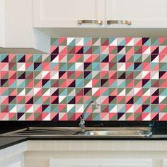 Adesivo de Azulejo - Color - 023Az