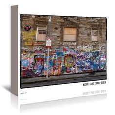 East Urban Home Windmill Lane Studios Dublin by Graffitee Studios Photographic Print on Wrapped Canvas Size: