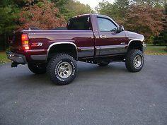 1999 chevy silverado z71 2 door lifted, yes please :)