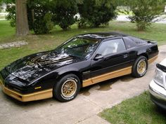 1984 Pontiac Firebird Trans Am-Ok y'all, this is no lie, my mother pushed and ROCKED this bad boy all around town in my youth (ain't sayin how long ago!); Everybody in the 'hood wanted one after they saw hers, but she got the very first one that came out that year.  This one's to you, Mama! <3