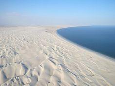 Oman   Beach & Sugar Dunes. view on Fb https://www.facebook.com/OmanPocketGuide  credit: Gilles Fovet #oman