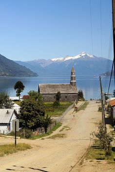 Cochamo, Estuario de Reloncaví, Chile by Capiotti