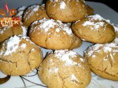 Tahinli Kurabiye Tarifi Hamburger, Muffin, Bread, Breakfast, Desserts, Food, Morning Coffee, Tailgate Desserts, Deserts