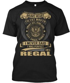 REGAL - I Never SaidIWas Perfect