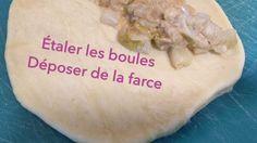 Chaussons aux endives (végétariens) - YouTube Camembert Cheese, Dairy, Videos, Food, Practical Jokes, Recipe, Eten, Meals, Video Clip