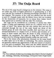 The Dangers of the Ouija Board