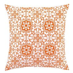 I pinned this Valencia Pillow in Tangerine from the Quatrefoil event at Joss and Main!