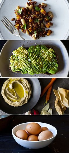These lunches prove that desk meals don't have to be downers. Seven lunches ready in under five minutes.