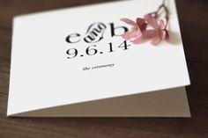 DIY Printable Storybook Romance Program / Ceremony Cover on #Etsy. http://www.etsy.com/listing/99757913/printable-storybook-romance-wedding