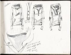 Fashion Sketchbook - fashion design drawings; fashion sketching; fashion portfolio // Katie Davis