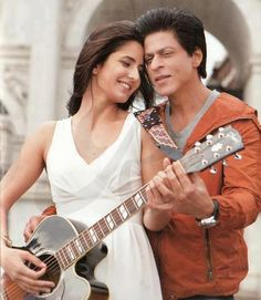 Katrina Kaif With SRK
