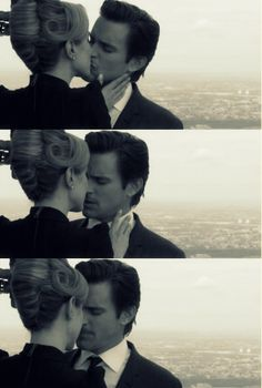 """White Collar - """"To another us."""" JUST BE TOGETHER AND HAVE BABIES AND LIVE HAPPILY EVERY AFTER ALREADY >"""