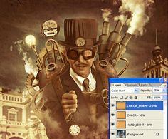 How to Create a Steampunk Style Illustration in Photoshop - Tuts+ Design & Illustration Tutorial