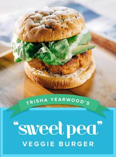Fan of the veggie burger? You're in for a sweet treat if you follow the lead of Trisha Yearwood with this delicious recipe.