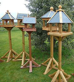 Picture 4 of 69 Wooden Bird Feeders, Wooden Bird Houses, Bird Houses Diy, Bird Feeder Plans, Bird House Feeder, Diy Bird Feeder, Homemade Bird Houses, Homemade Bird Feeders, Outdoor Projects