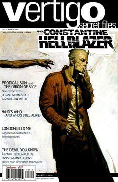 Comic Book Art: John Constantine: Hellblazer (The Specials) Cover Art