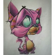 Image result for cat new school tattoo