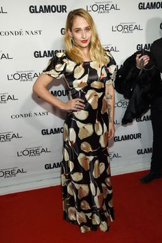 Jemima Kirke aux Glamour Women of the Year Awards
