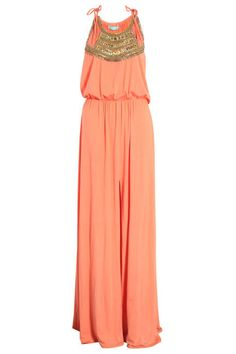The Dress, Melissa Odabash Front Split Embellished Maxi Dress, Evening Attire, Evening Gowns, Plus 4, Fashion Beauty, Womens Fashion, Glamour, Dress Me Up, Dress Red, Get Dressed