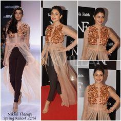 Anushka Sharma in Nikhil Thampi.
