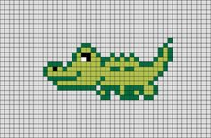 Easy Perler Bead Patterns, Melty Bead Patterns, Perler Bead Art, Perler Beads, Beading Patterns, Tiny Cross Stitch, Cross Stitch Animals, Cross Stitch Designs, Cross Stitch Embroidery