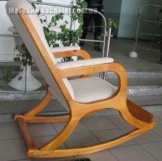 """Кресло-качалка """"Леди"""", дерево"""