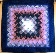 Sunshine and Shadow Baby Quilt by rlbates29, via Flickr