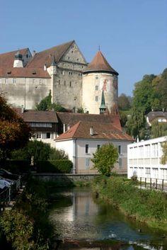 Porrentruy Chateau Switzerland