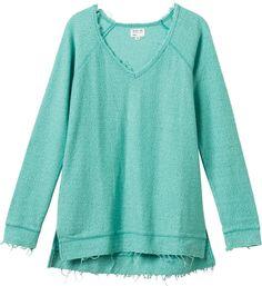 Lengths Sweatshirt in Mint