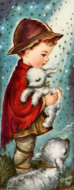 1940s Christmas Card - Charlot Byj